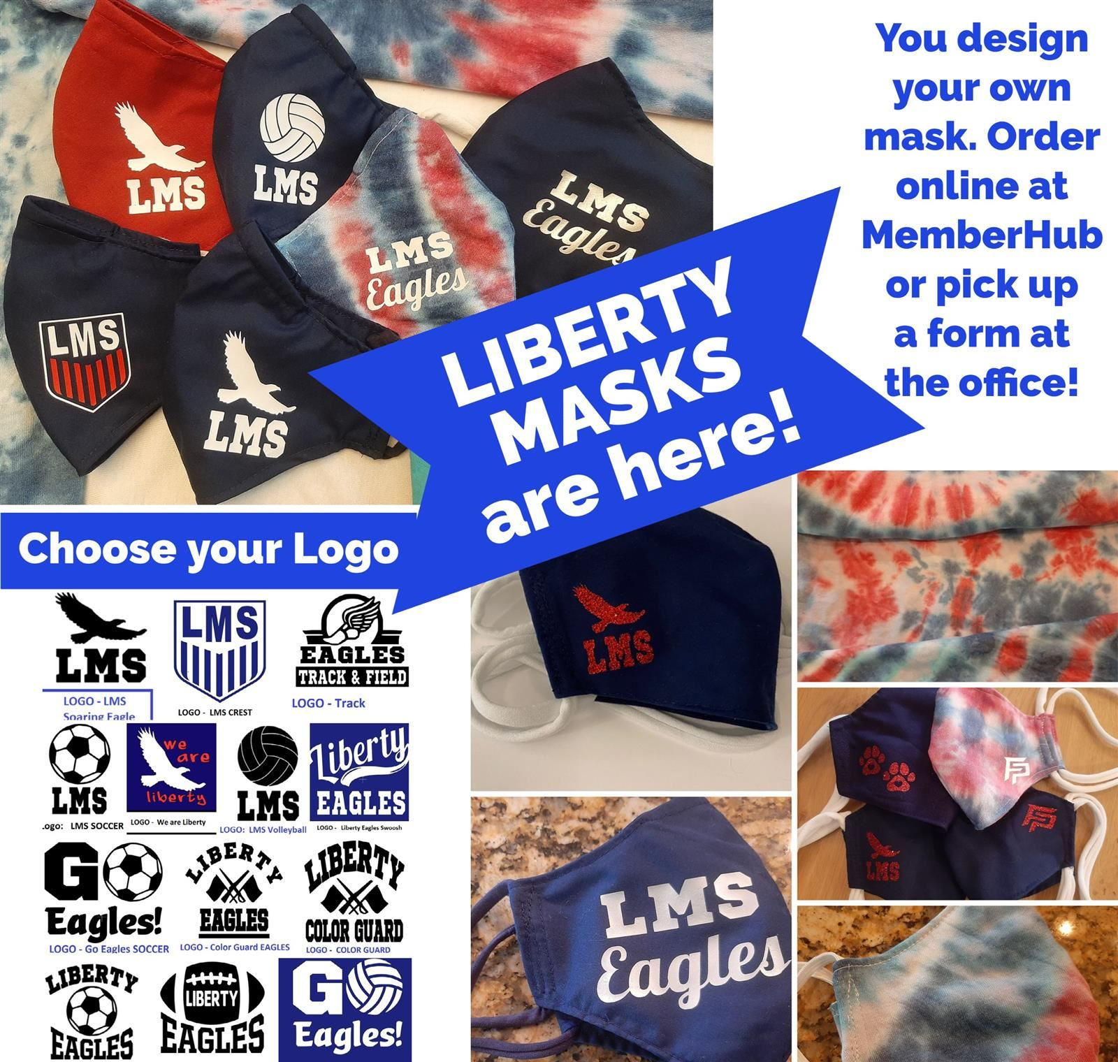 Liberty Custom Face Mask
