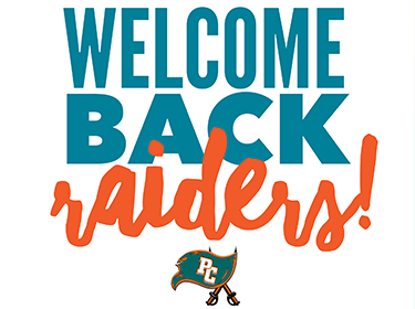 Welcome Back Raiders
