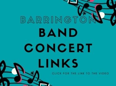 Barrington Band Concert Video