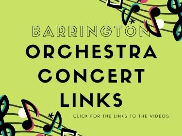 Barrington Orchestra Concert Links