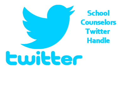 School Counselors Have a Twitter Handle!