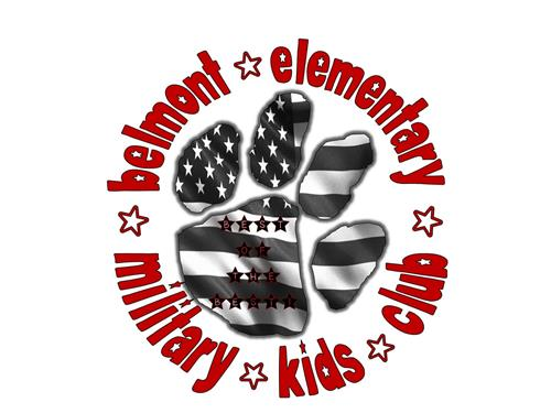 Belmont Military Kids Club Logo