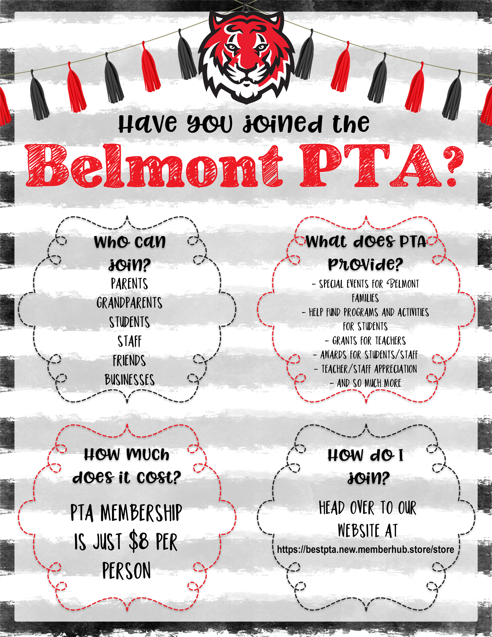 Join the Belmont PTA!