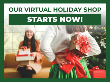 Our Virtual Holiday Shop Starts Now!