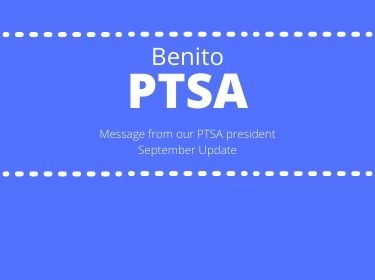Message from PTSA President