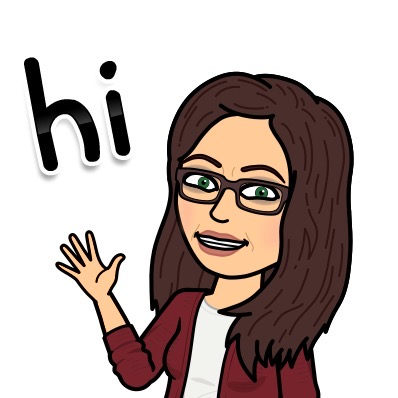 Bitmoji of Mrs. Schram