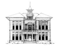 drawing of Gorrie Elementary
