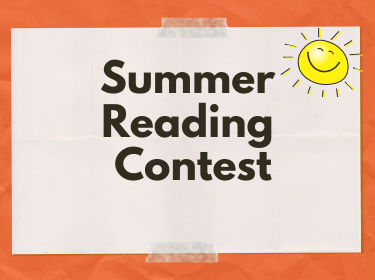 Title card for Summer Reading Contest