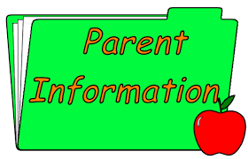Parent information file folder